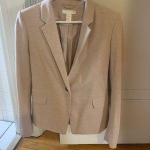 Light pink H&M blazer.